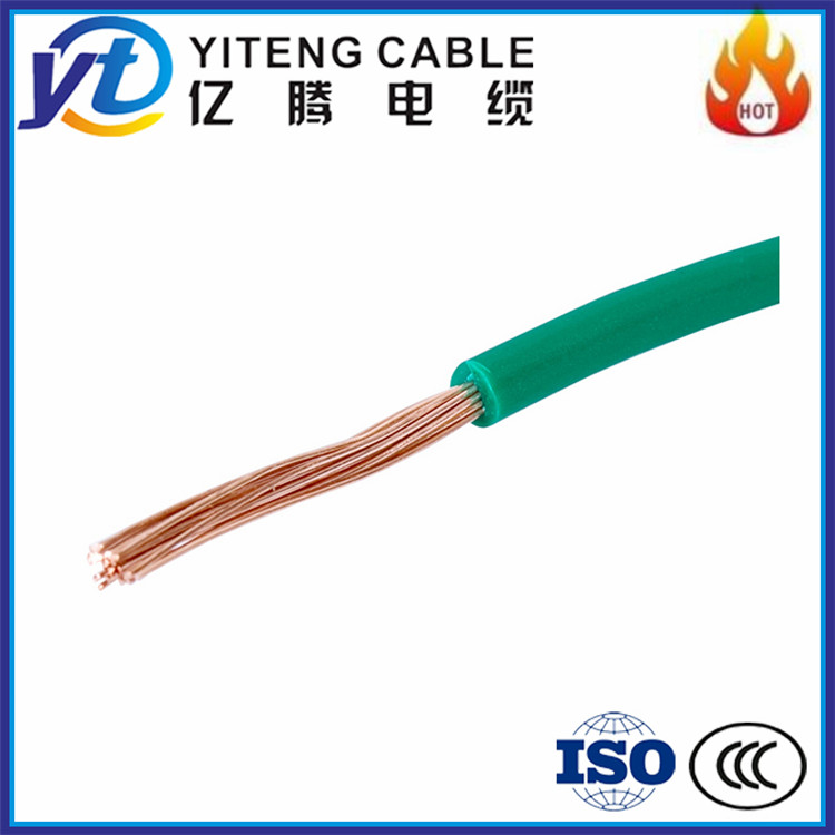 Different types of copper conductor BVR electrical cable wire