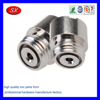 custom stainless steel 4081 To 510 ego Adapter For electric cigarette part