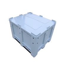 Plastic Fixed Wall Bulk Containers, Pallet Box, Pallet Bin