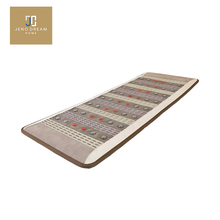 Jeno Home  whole body massage mattress thermal ceramic photon mattress ,Korea  jade heating pad