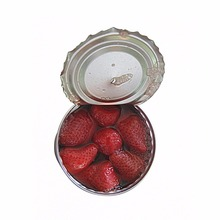 canned strawberry in syrup from China good price