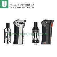 shenzhen new vaporizer Vaporesso Target 2 kit with vaporesso 75w Temp control MOD need one 18650 battery cCELL coil game changer