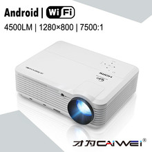 data show 1080p wifi projector full hd home theater tv led proyector