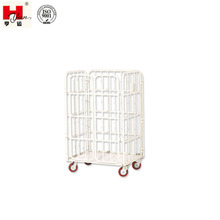 Professional Double Door folding Fabric Trolley