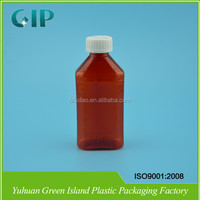 500ml amber pet bottle for pharma