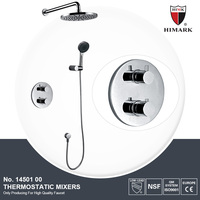 Professional made wall mounted constant temperature shower faucet