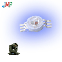 high brightness 1w 3w 6 legs high power rgb led