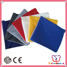 GSV certification cheap wholesale handmade cheap promotional felt laptop bags