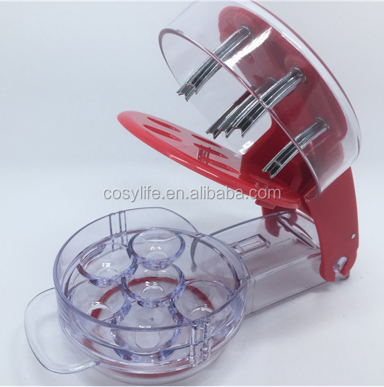 Kitchen Cooking Slicer Cherry Take Nuclear Device Plastic Cherry Pitter