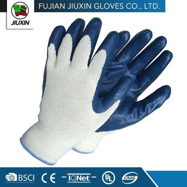Safety Nitrile Coating Non Slip Cheap Work Gloves