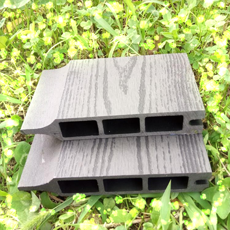 waterproof plastic composite wpc wood garden fence panel