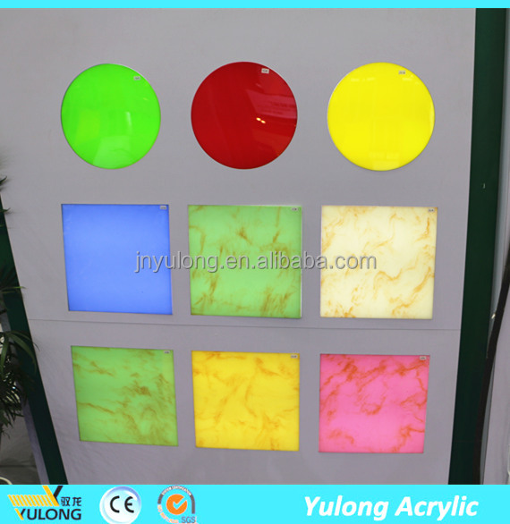 marble Color plastic sheet