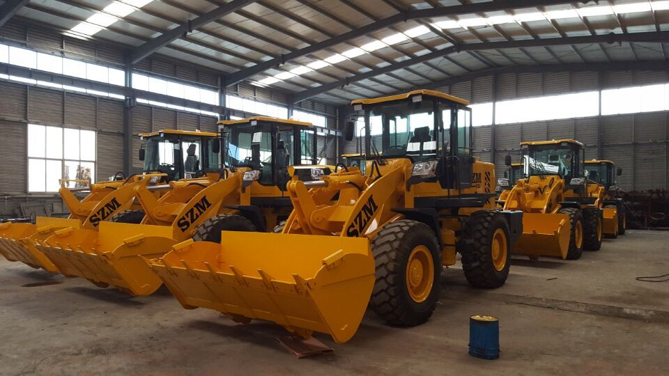 3 tons wheel loader with ZL30 wheel loader