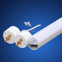 led tube light T5 Round transparent pc and aluminum Extrusion plastic shell AL cover