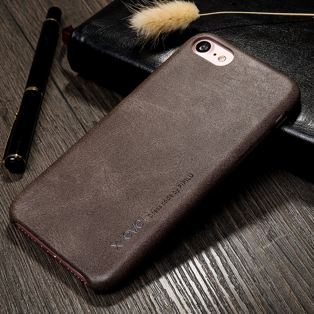 X-Level Free Shipping New Mobile Phone PU Leather Back Cover Case For iPhone 7 Plus