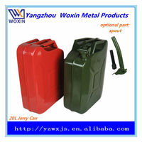 20L CE approval gasoline/gas/fuel tank square type