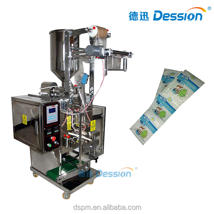 Automatic Body Lotion Packaging Machine Into Pouches With Liquid Filling Function Foshsan Machine Manufacturer