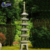 Wholesale custom cheap outdoor yard tiered garden lantern stone pagoda for sale