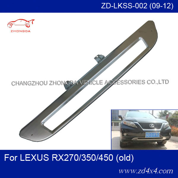 front skid plate for 09-12 LEXUS RX270/350/450 , RX270/350/450 bumper protector cover,Lexus rx tuning