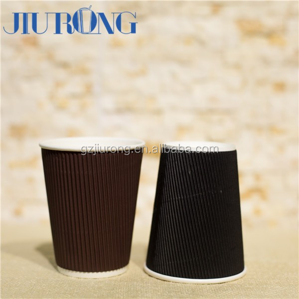 Corrugated Paper Coffee Cup/Wholesale Paper Cup/Paper Cups for Hot Coffee