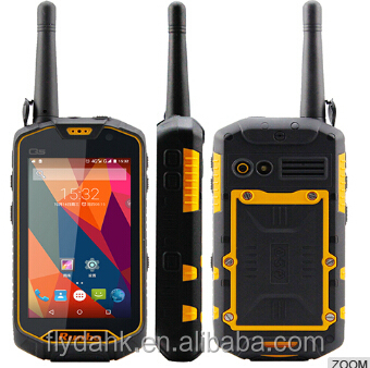 walkie talkie function runbo Q5 rugged waterproof mobile phone