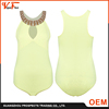 New arrival fashion sexy adult short jumpsuit , yellow women jumpsuit wholesale China