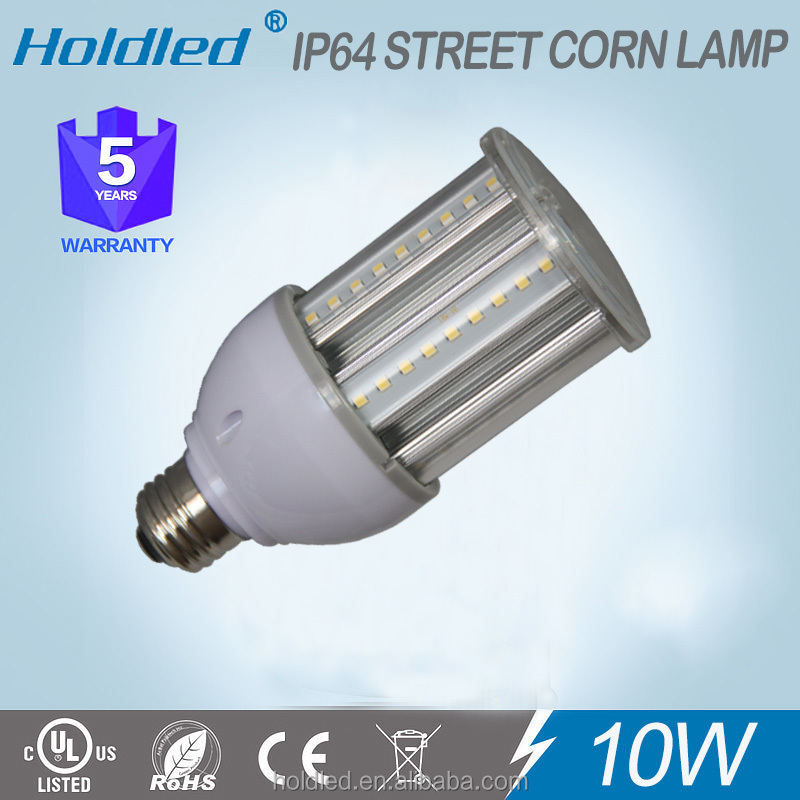 manufacturer Whtie Ring 10w ip64 led corn light ul listed for Post Top light