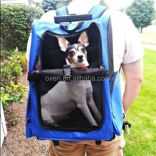 dog carrier bag outdoor pet traveling folding bag durable and sturdy