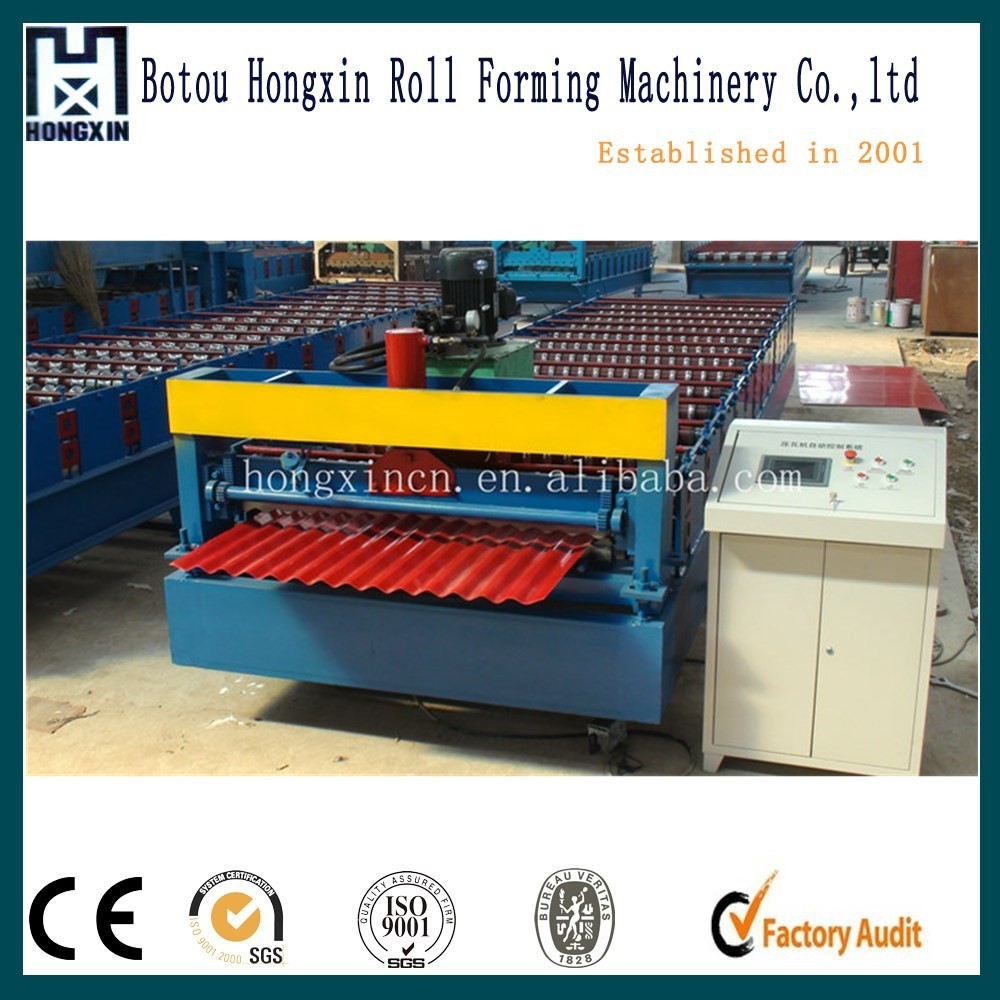 PC Control Corrugated Roof Sheet Making Machine with High Efficiency