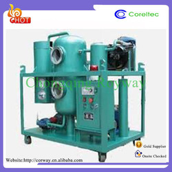 High advanced technology used tyre engine oil purifier for machinery industry use