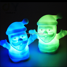 custom LED Mini Colourful Night Light Push Down Lamp for kids