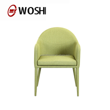 Wholesale low back light blue hotel chair dining chair