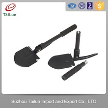 Plastic Coated 50Mn Qenched Wholesale Folding Shovels With High Rigidity40-45Degree