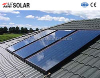 used for swimming pool project flat panel pressure solar collector compact family collector of hot water heater