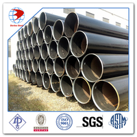 "ALP 5L X60 PSL2 LSAW Pipe 36"" SCH STD 11.8M ASME B36.10 Beveled Ends LSAW PIPE"