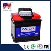 korean style DIN45MF 12V45AH long life rechargeable automobile car battery