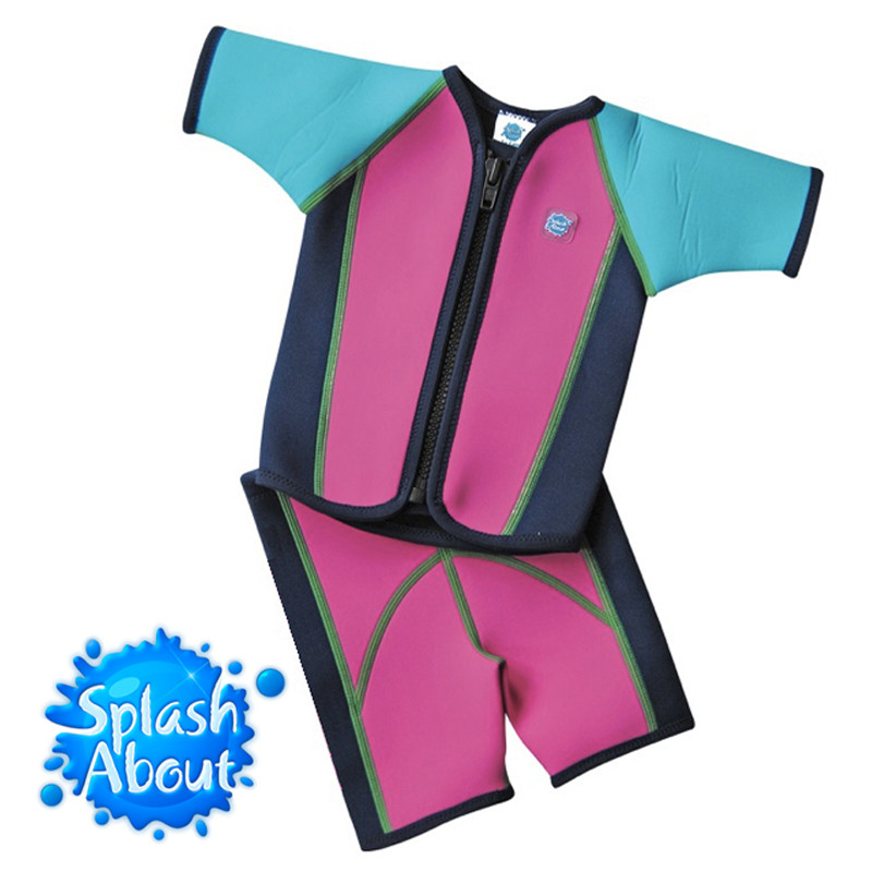 Promotional swimwear vendor Unique 1mm Colored NEOPRENE UPF50+ taiwan 1-6y Splash About Jacket & Shorts Wetsuit