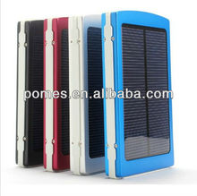 2016 New Arrival 10000mAh Solar Power bank External Battery Charger with 4 connectors 1 usb cable For Moblie Phones