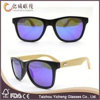 New Design with 9 years experience wood temple sun glasses
