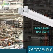 Ceiling Suspending Dual 120W Industrial LED Linear High Bay Light with 5 Year Waranty