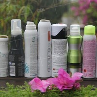 Made in China Aluminum aerosol cans for cosmetic