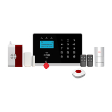 GSM 3G Wireless LCD Display Home Security Alarm System mit IOS Android App Betrieb