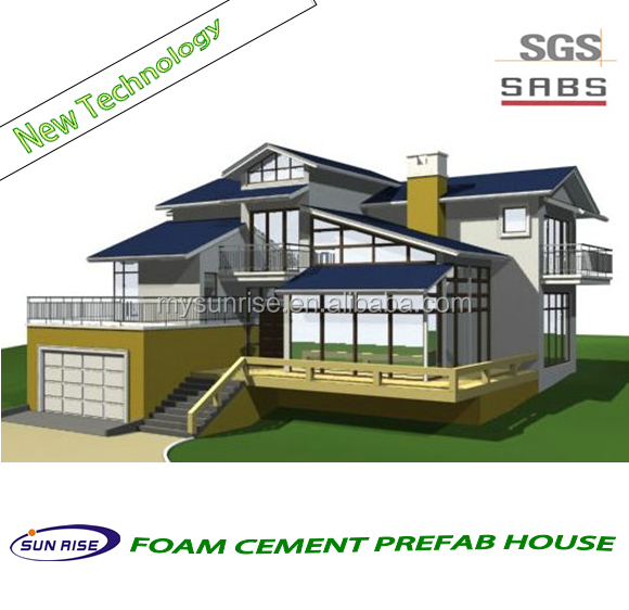 Luxury cheap and quick assembled china low cost homes