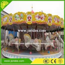 amusement park used commercial carousel horses luxury merry go round with music boxes