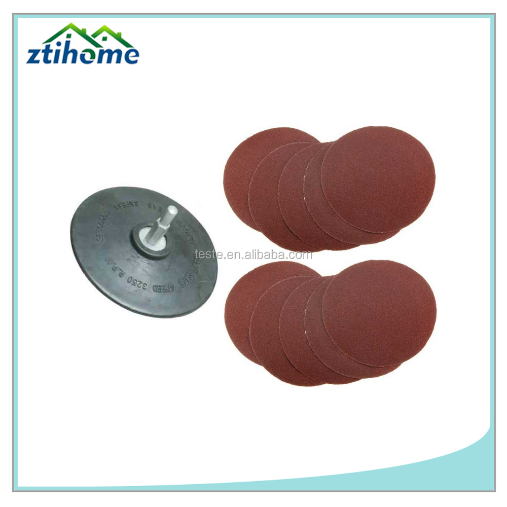 Wholesale High Quality Sandpaper Discs type 4/4.5/5/6/7/9 Inch