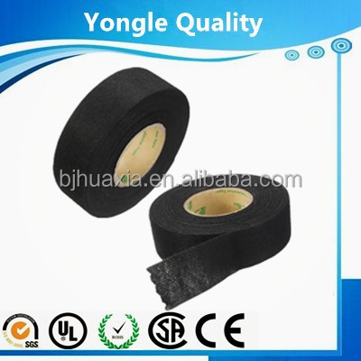 High adhesive force automotive polyester fleece tape