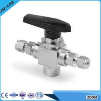 Stainless steel 3pcs o-ring ball valve