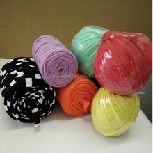 2016 Polyester T Shirt Yarn Wholesale For Sequin Knitting Yarn