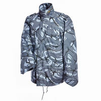 Alpha pattern british marine camo military m65 field jacket