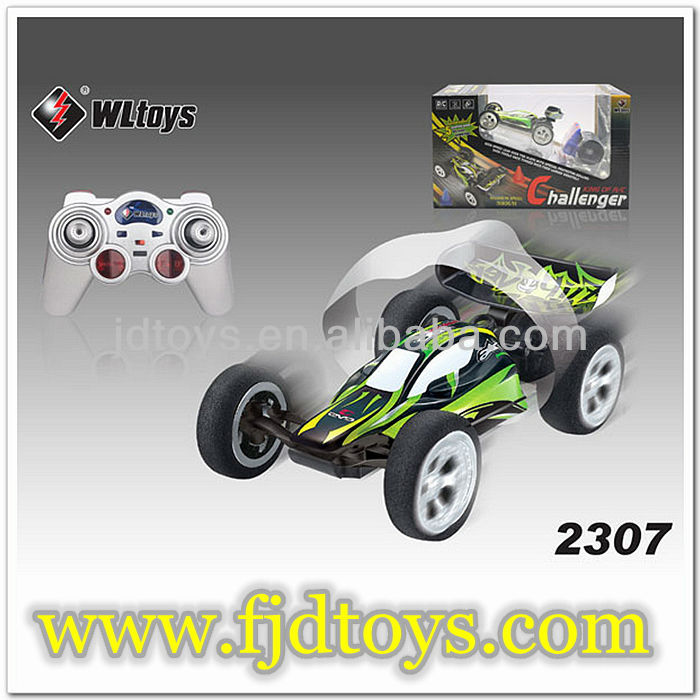 1:32 High speed RC Car WLtoys 2307 RC car Cool green remote control car